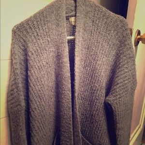 Dreamers gray cardigan sweater Size M/L